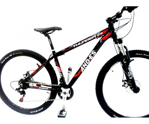 bicicleta mtb rodado 29 an-des thunder 24 vel disco mecanico