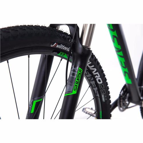bicicleta mtb sense 29x15 impact pro 2017 27v alivio verde