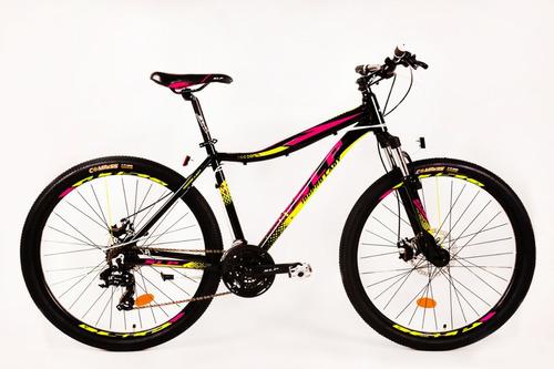 bicicleta mtb slp 100 pro lady rodado 29 envío alum shimano