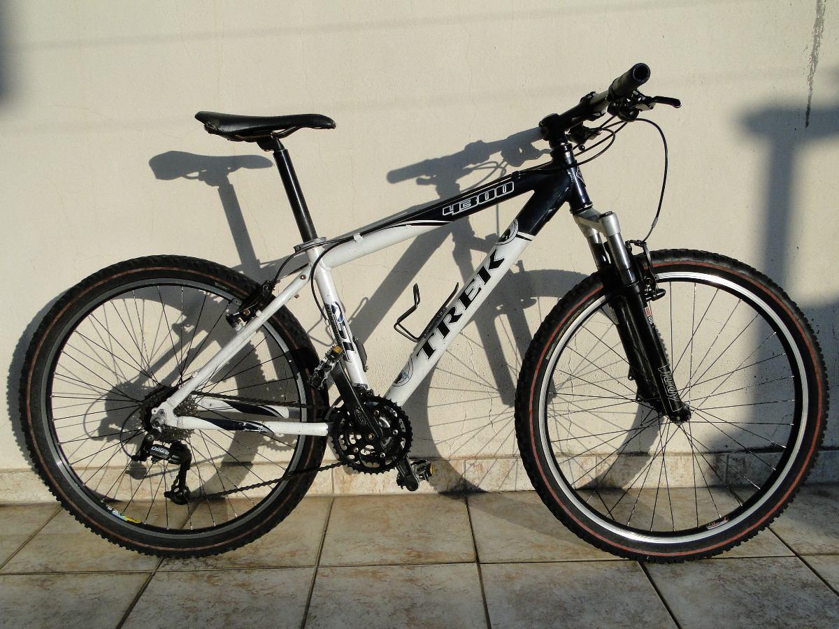 Bicicleta Mtb Trek 4300 Tam 15 Aro 26 27v Deore E