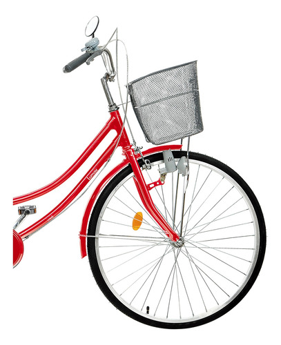 bicicleta mujer dama de paseo lumax rodado 26 canasto y luz
