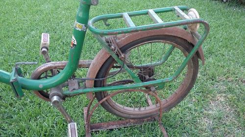 bicicleta musetta rodado 16 plegable vintage