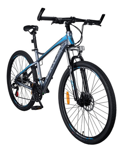 bicicleta nakxus track rin 27  21v frenos de disco