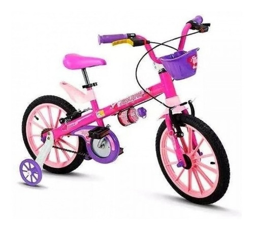 bicicleta nathor top girl 16¨