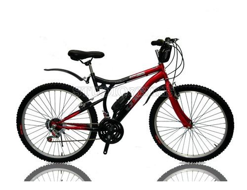 bicicleta negra montañera aro 26 new - envios a todo el perú