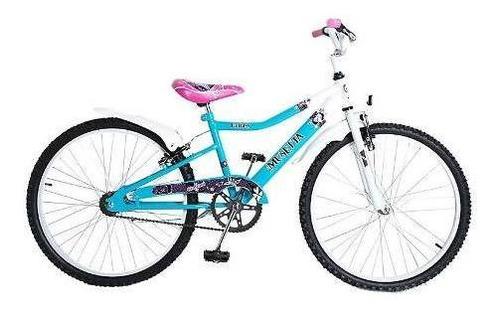bicicleta nena musetta fantasy rodado 24 - racer bikes