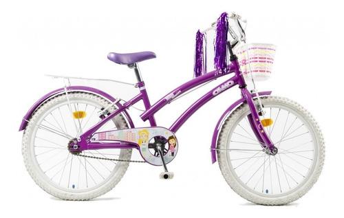 bicicleta nena olmo tiny dancers rod. 20 violeta - racer bikes