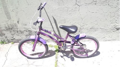 bicicleta nena (princesas) rodado 16