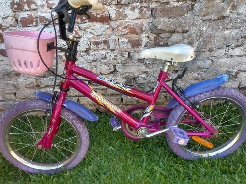 bicicleta nena r16 muy buen estado!