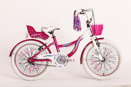 bicicleta nena raleigh r20 jazzi aluminio - racer bikes