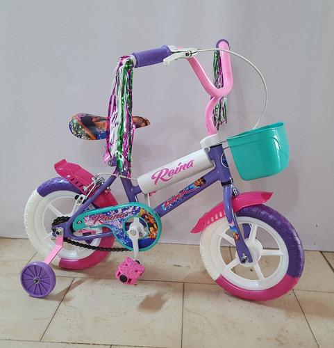 bicicleta nena rodado 12 ram día del niño