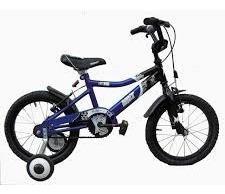 bicicleta nene musetta viper rodado 16 azul - racer bikes