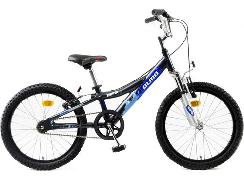 bicicleta nene olmo reaktor rod. 20 alum negro - racer bikes