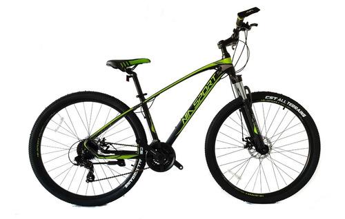 bicicleta nia sport rin 27.5 mecánica 24vel aluminio shimano
