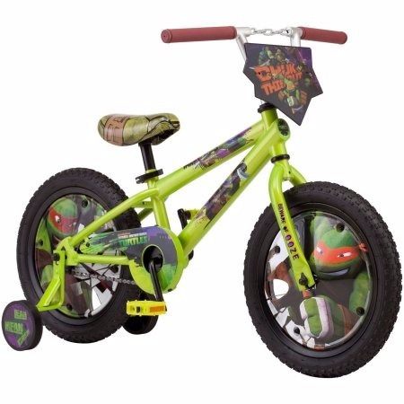 bicicleta niño  aro16 tortugas ninja