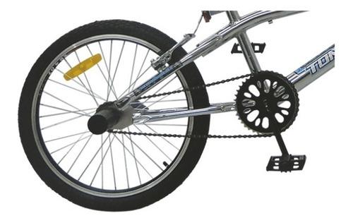 bicicleta nino bmx tomaselli freestyle xt3 cromada rod. 20