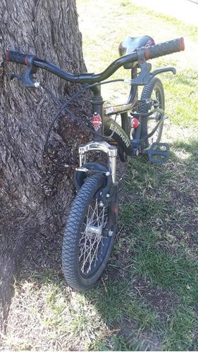 bicicleta niño rodado 16 usada