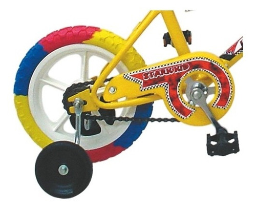 bicicleta nino tomaselli mini multicolor rodado 12