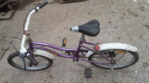 bicicleta niños keirin usada mediana