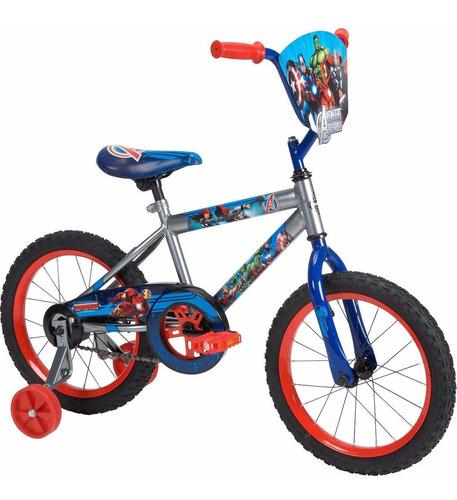 bicicleta niños marvel vengadores rodado 16 huffy