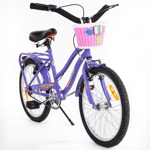 bicicleta niños m.hendel playera full r20 nena colores vario