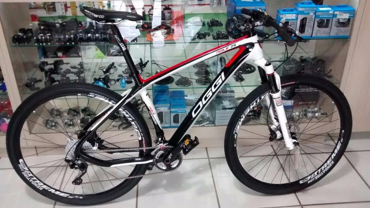 Bicicleta Oggi Agile Aro 29 Carbono Shimano Xt Frete