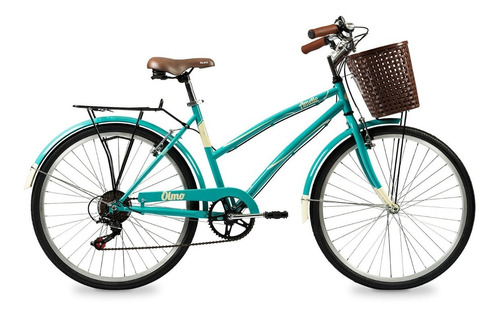 bicicleta olmo paseo dama amelie rapide 6v - racer bikes