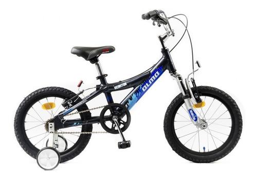 bicicleta olmo reaktor aluminio rod. 16 negro - racer bikes