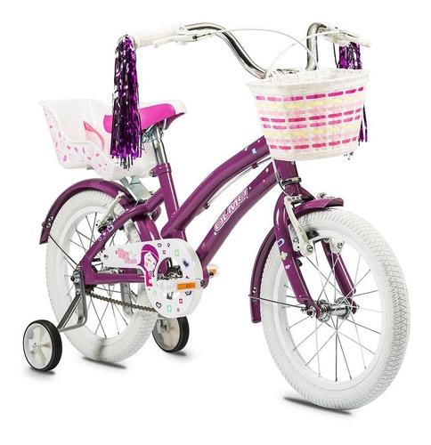 bicicleta olmo rod 16 nena tiny friends con rueditas envio