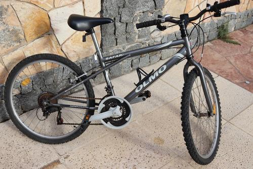 bicicleta olmo safari rodado 24