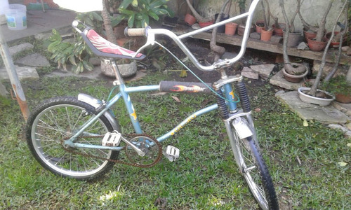 bicicleta olmo tipo bicicross asiento banana rod20. de niño
