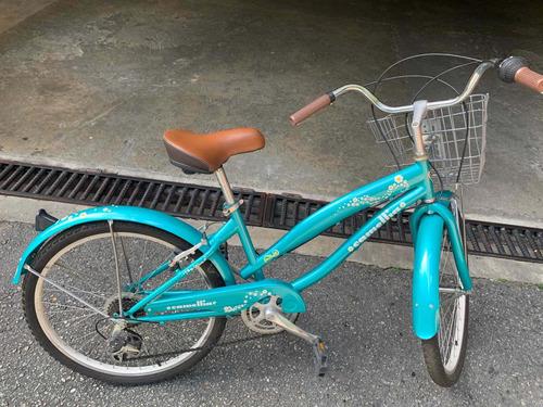 bicicleta on trail
