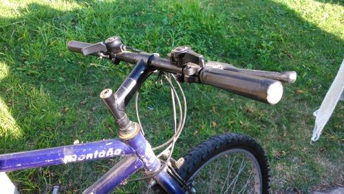 bicicleta ondina montaña, color azul.