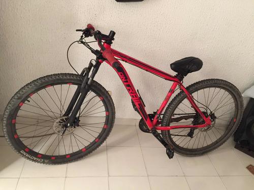 bicicleta ontrail de 7 velocidades, hidráulicos. 550.000