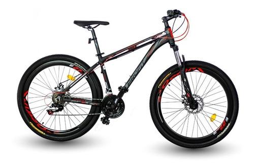 bicicleta optimus boston 2019 shimano 7vl. 27/29 mecanica