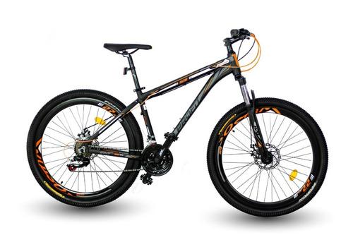 bicicleta optimus profit boston shimano 7 vel suspensión