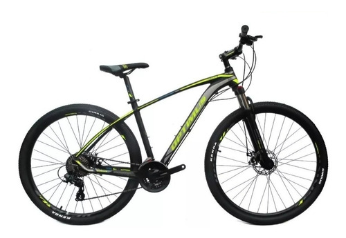 bicicleta optimus sirius x shimano bloqueo 8v mecanica 2.020