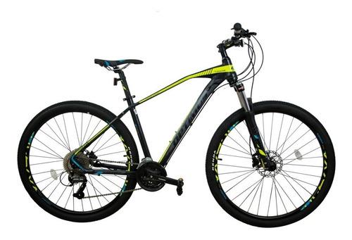 bicicleta optimus tucana disco susp 9 vel shimano hidraulica