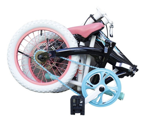 bicicleta original plegable bia de disney