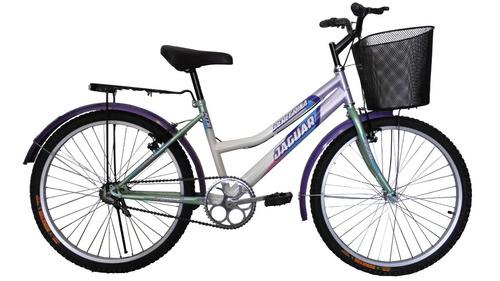 bicicleta panther peregrina equipada canasta parrilla rod 24