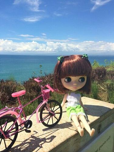 bicicleta para blythe e bjd
