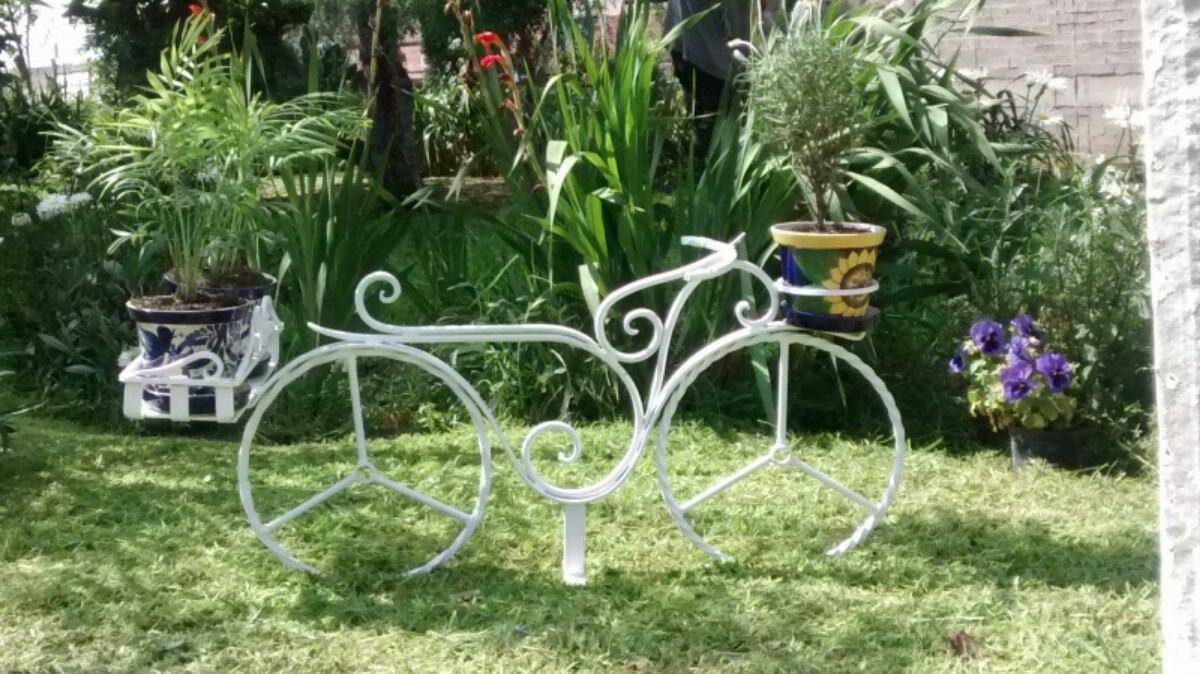 bicicleta para jardin vintage