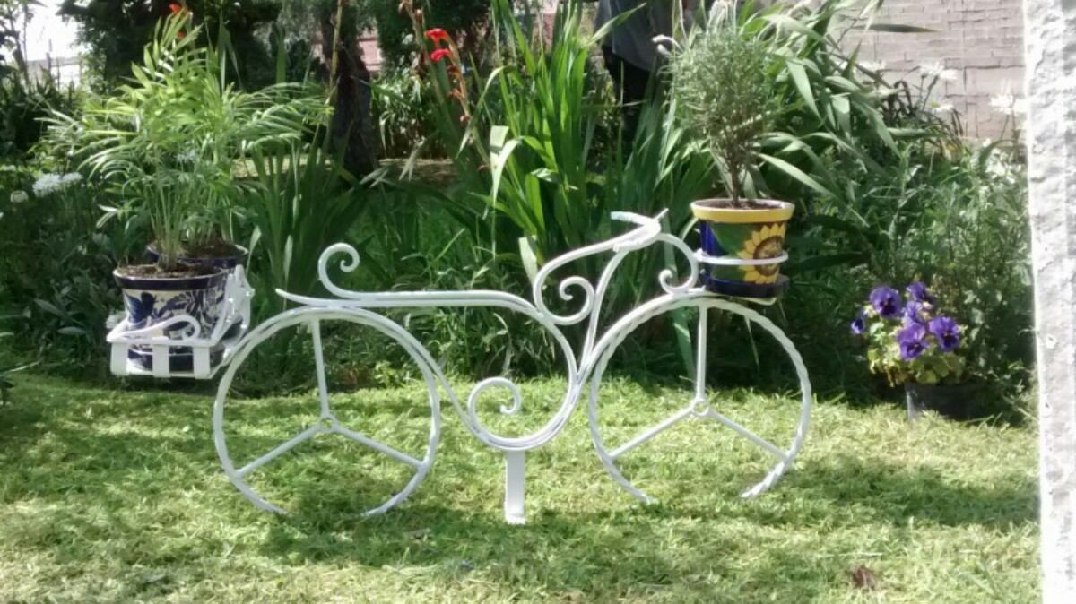 Bicicleta para jardin vintage de herreria 2 en for Jardines vintage