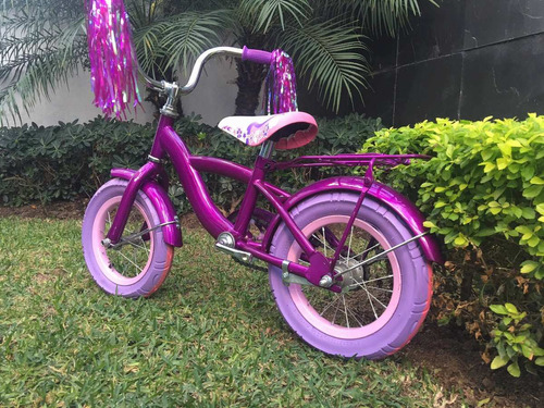 bicicleta para niña r16 con casco y protecciónes de regalo