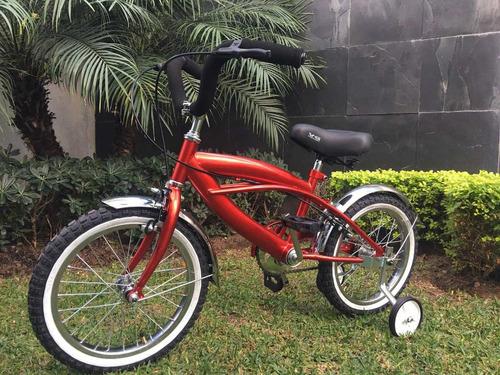 bicicleta para niño r16 estilo schwinn