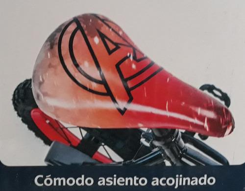 bicicleta para niños huffy avengers rodada 12 edad 3-5 años