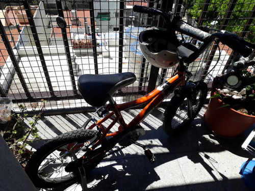 bicicleta para niños  musseta viper rodado 16