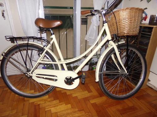 bicicleta paseo dama