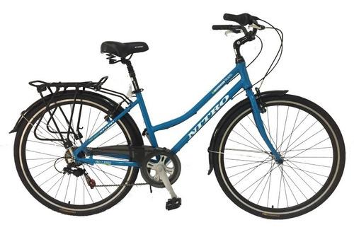 bicicleta paseo dama rodado.28 ; rosas hermanos mercedes