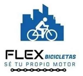 bicicleta paseo rodado 20 nena flex